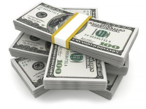 Cash pile dollars 300x224 Entreprises High Tech : Qui a le plus de cash ?
