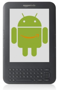 Amazon kindle android montage 194x300 Amazon prt  attaquer le march des tablettes avec un Kindle sous Android ?