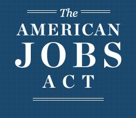 American Jobs Act Logo Crowdfunding Startups: Le JOBS Act amricain introduit le crowdfunding