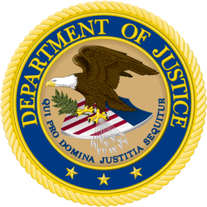 Doj department of justice amricain logo 2 300x300 Soupons de cartel dans le march des ebooks amricains