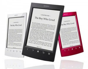liseuse Sony ereader PRS T2 300x237 eBooks : 80 000 livres en franais pour Sony grce  Chapitre.com